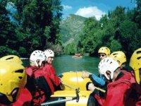 Rafting sur le Gave de Pau