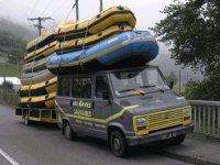 Les vehicules de Gave Sauvages