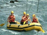 Mini Raft dans les Hautes Pyrenees