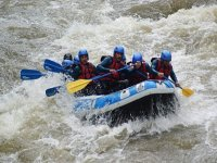 Rafting en groupe sur Aude