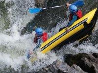 Canoraft descente sportive dans l Aude