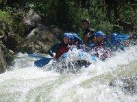 Rafting avec des professionnels