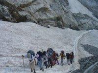 Sur le glacier d'Ossoue