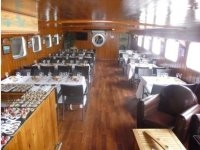Receptions dans le bateau