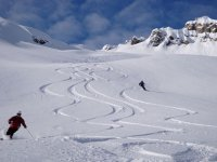 Aventure ski avec les passionnes
