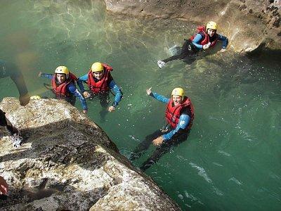 Easy Raft Canyoning
