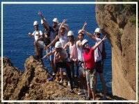 Groupe de canyoning