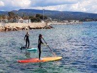 Stand Up Paddle dans le sud de la France