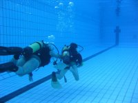 Decouverte de la plongee en piscine