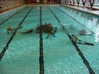 Initiation a la plongee en piscine a Orleans