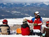 Snowboard a Bernex