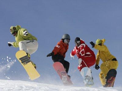 ESF Megève Snowboard