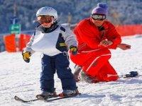 Ski enfant a Cordon dans le 74