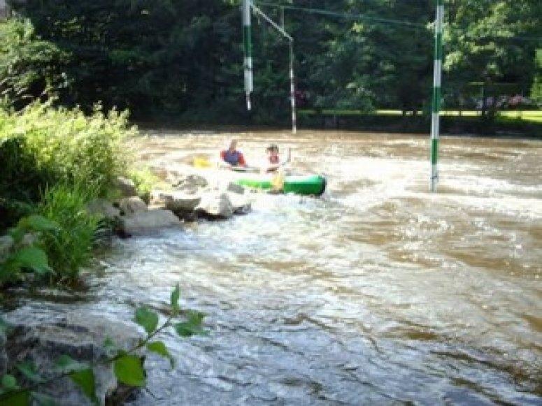 Descente de 14 km en canoe dans le Calvados