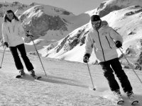 Apprendre a skier Courchevel 1650