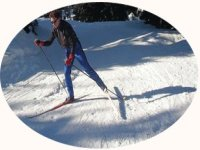 Ski de fond dans les Hautes Pyrenees