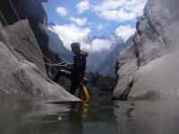 Decouvrez les canyons des Hautes Pyrenees avec Le Club Sportif Isaby Canyoning