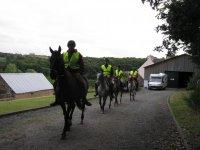 Balade à cheval de nuit dans le Finistère
