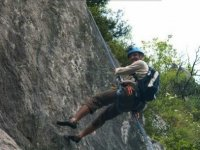 Decouverte escalade falaise du Crot