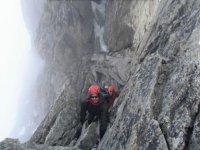 Escalade de montagne en ete
