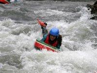 Sortie rafting avec le materiel