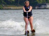 ski nautique en initiation