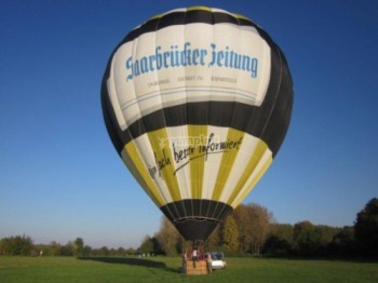 Vol en ballon avec Sarthe Montgolfiere