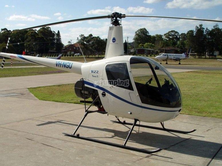 Decouvrir l helicoptere en region parisienne