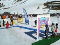 Les jeux ski pour les plus jeunes