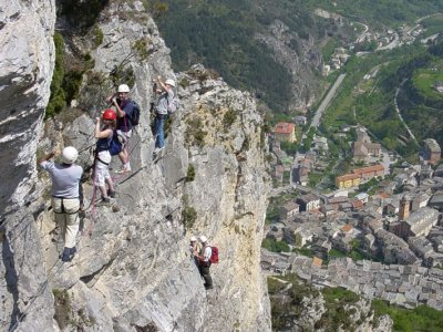 Bureau des Guides du Mercantour Via Ferrata