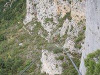 La Tyrolienne entre les montagnes