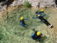 Canyoning ruisseau Audin