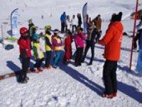 Ecole de ski aux Menuires