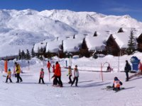 Ski enfants Les Menuires
