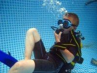 Bapteme plongee en piscine
