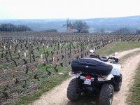 La Bourgogne en Quad.