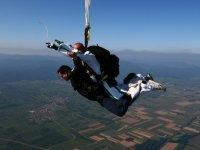 Adrenaline et parachutisme