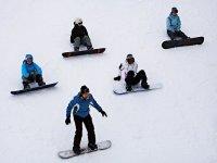 Eleves en snow