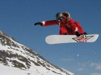 Lecon de Snowboard dans les Alpes