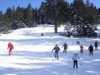Apprendre le ski de fond en Ariege
