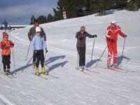 Sortie en ski de fond a Ax