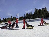 Skieurs en situation de handicap