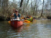 Balades en canoe