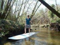 A la decouverte du SUP avec Appach Canoe