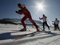 Ski de fond en cours Isere