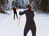 Faire du ski de fond sur Brignoud