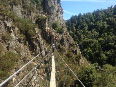 Escalad'Dôme Via Ferrata