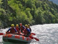 Rafting entre collègues