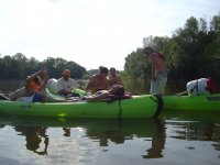 Flanage en Canoe sur la Loire