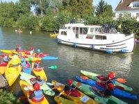 Sortie canoe pour le lycee